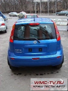 Nissan note краш тест