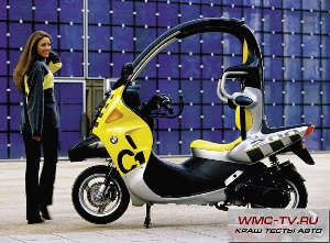 Crash test bmw c1