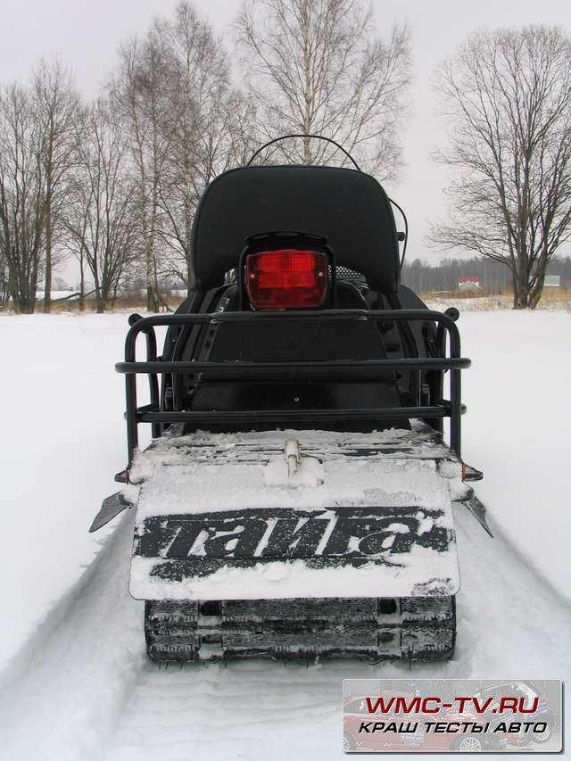 Тюнинг снегохода тайга видео