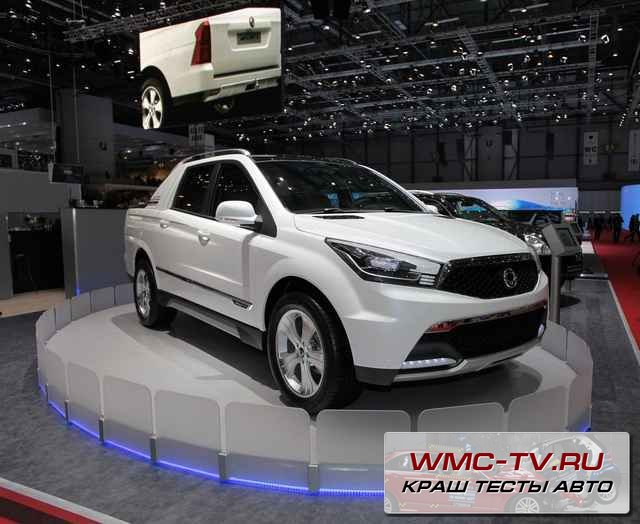 SsangYong New Actyon 2012