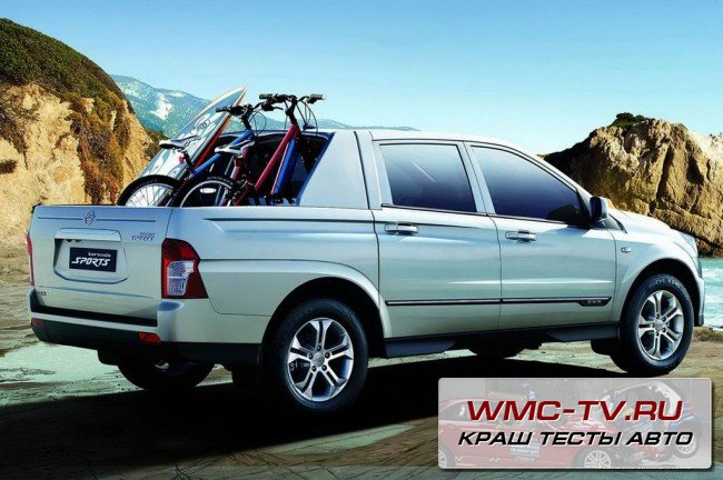 SsangYong Actyon краш тест