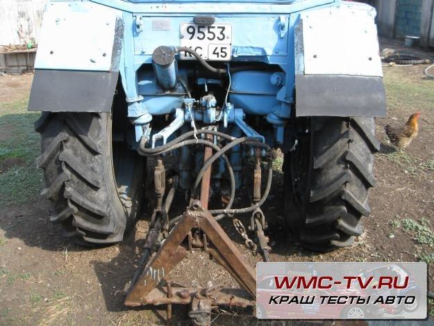 Навеска на трактор мтз своими руками