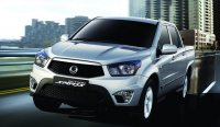SsangYong New Actyon Sports - корейский пикап