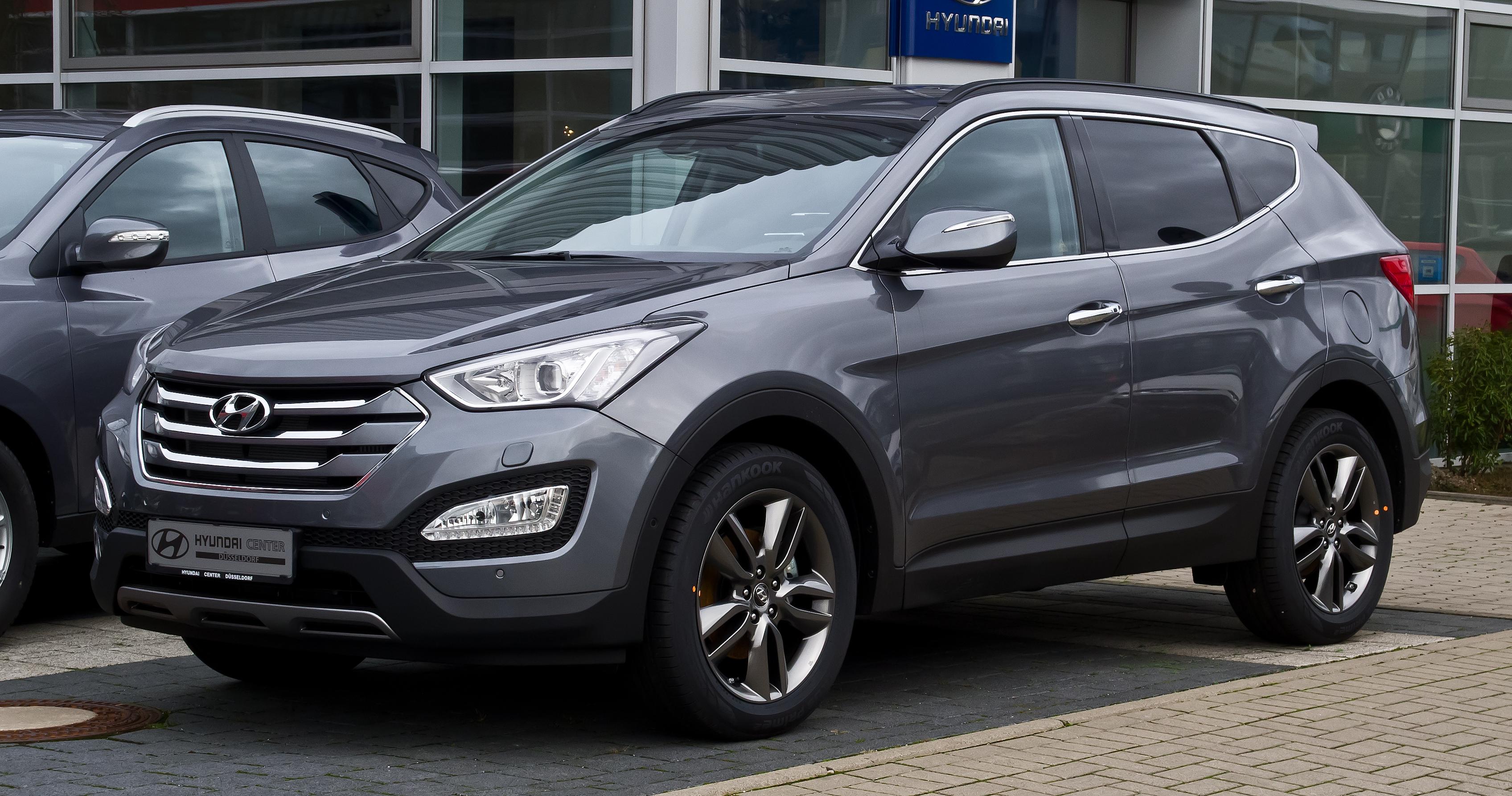 Hyundai santa fe 2014 фото